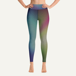 Gradient Dots Women's High-Waisted Leggings