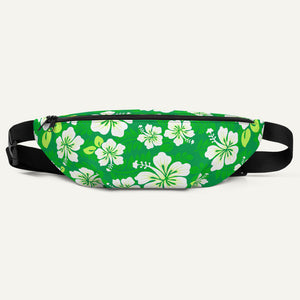 Hawaiian Aloha Fanny Pack — Green