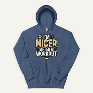 I'm Nicer After A Workout Pullover Hoodie