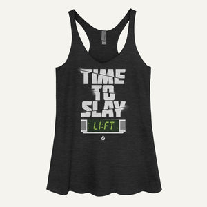 It's Lift O'Clock, Time To Slay Women's Tank Top