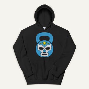 Lucha Libre Kettlebell Design Pullover Hoodie