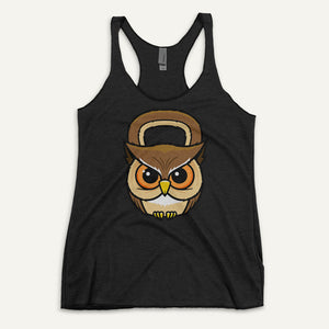 Owl Kettlebell Design Women's Tank Top