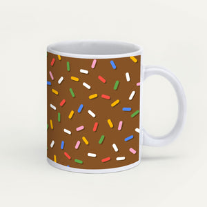 Sprinkles On Chocolate Glaze Mug