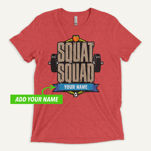 Squat Squad Personalized Men's T-Shirt