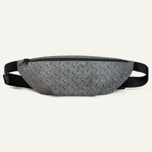 Steel Diamond Plate Fanny Pack