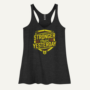 Stronger Than Yesterday Women's Tank Top