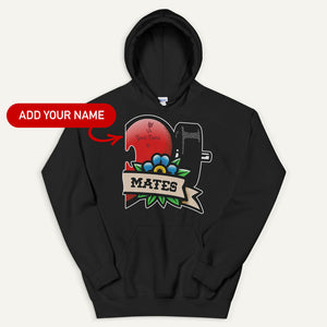 Swole Mates Personalized Pullover Hoodie (Mates)