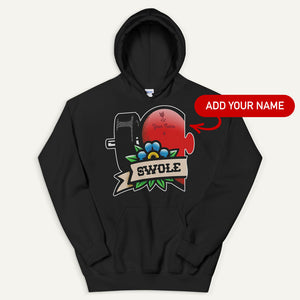 Swole Mates Personalized Pullover Hoodie (Swole)
