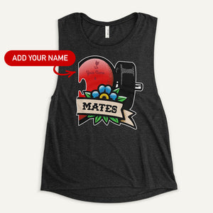 Swole Mates Personalized Women's Muscle Tank (Mates)