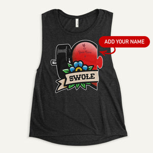 Swole Mates Personalized Women's Muscle Tank (Swole)