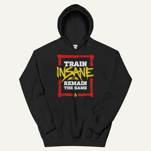 Train Insane Or Remain The Same Pullover Hoodie
