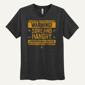 Warning: Sore And Hangry – Approach With Caution Men's T-Shirt