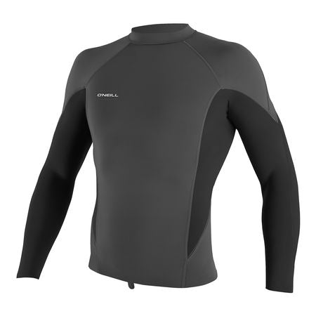 O'Neill Hyperfreak 0.5mm Long Sleeve Neoprene Top Slate/ Graphite