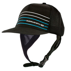 Ocean & Earth Mens Kuta Mesh Trucker Cap  Black/ Blue