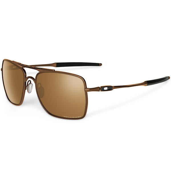Oakley Deviation Dark Brown Chrome Tungsten Iridium Polarized