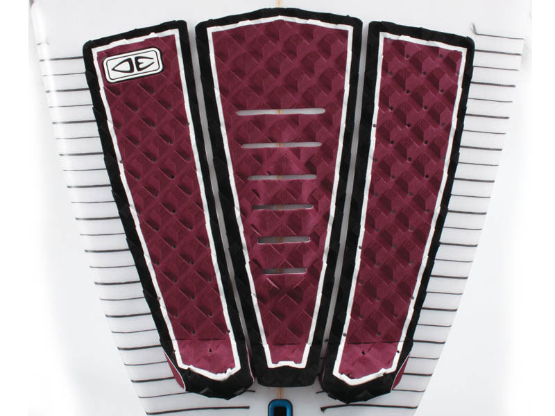 Ocean & Earth Kanoa Signature Tail Pad Maroon - Guincho Wind Factory