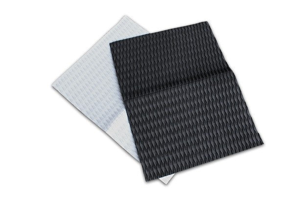 Unifiber footpad sheet 80x60 cm diamond groove (Black) - Guincho Wind Factory