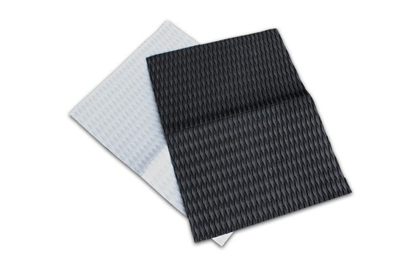 Unifiber footpad sheet 80x60 cm diamond groove (Black)