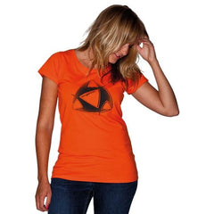 Mystic Kiteboarding Women Superior Tee Orange - Guincho Wind Factory