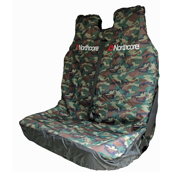 North Core Seat Cover Double Camo