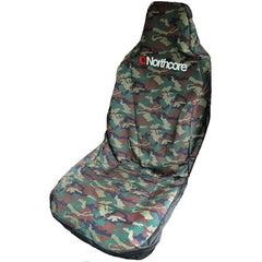 North Core Seat Cover Single Camo