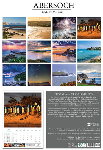 Magazine Subscription & 2018 Abersoch Calendar