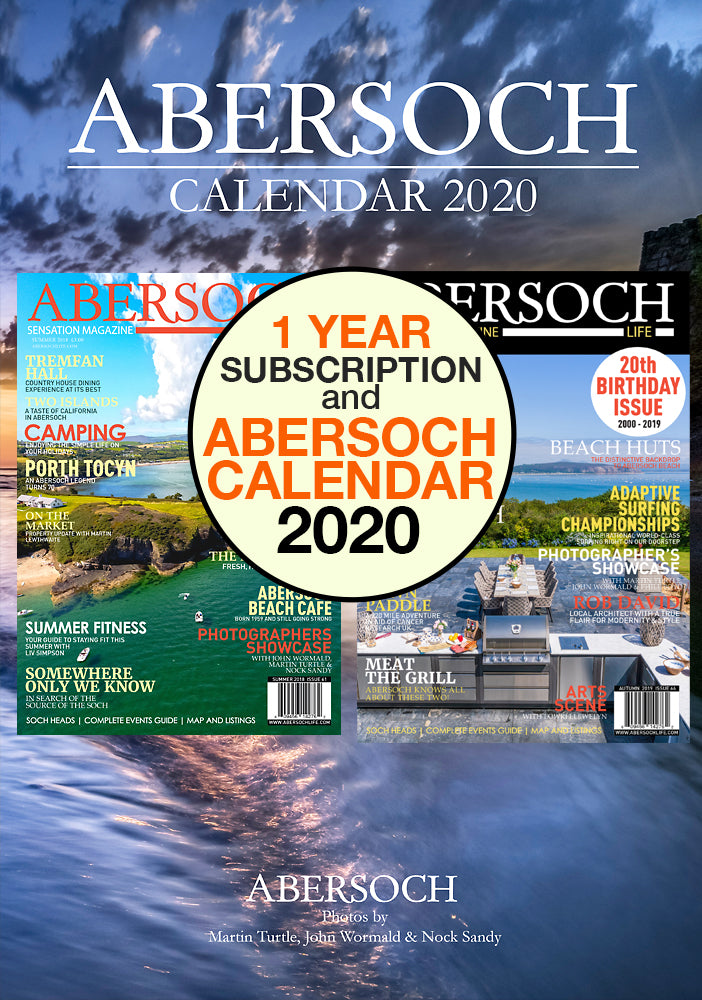 1 Year Subscription & 2020 Abersoch Calendar