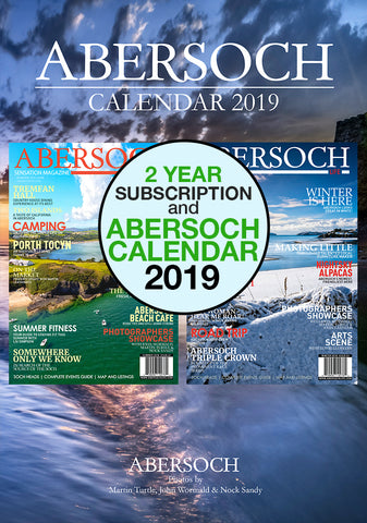 Magazine 2 Year Subscription & 2019 Abersoch Calendar