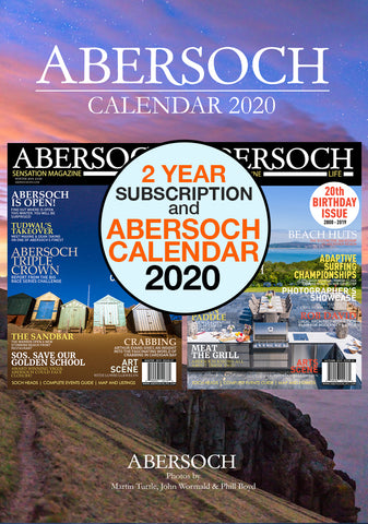 2 Year Subscription & 2020 Abersoch Calendar