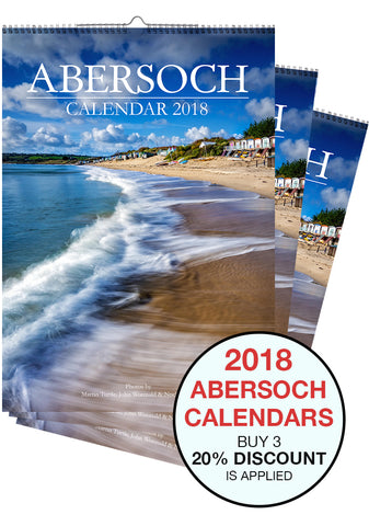 Pack of 3 Abersoch 2018 Calendars