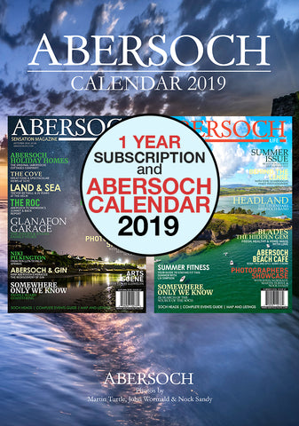 Magazine 1 Year Subscription & 2019 Abersoch Calendar