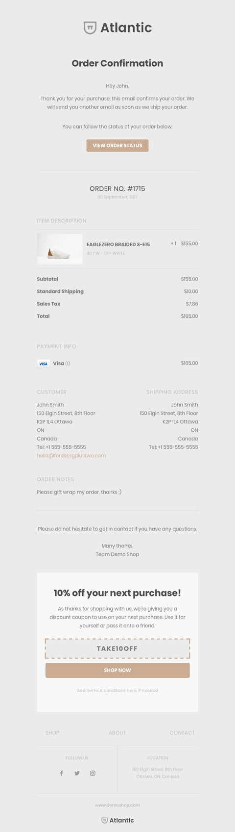 Orderlyemails Customizable Email Templates For Shopify Stores
