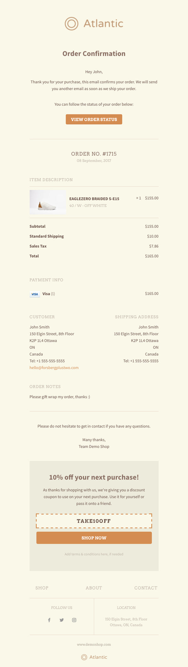 OrderlyEmails - Customizable email templates for Shopify