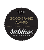 We've won at the Sublime Good Brand Awards 2020