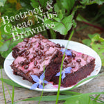 Angie's Beetroot Brownies with Cacao Nibs