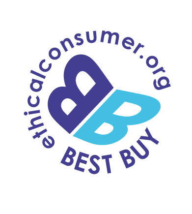 Proud to be recognised with the Ethical Best Buy label