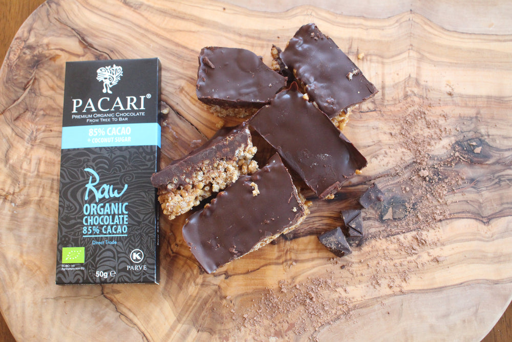 Vegan Chocolate and Coconut Toffee Crisp Bar