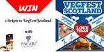 Win a pair of tickets to the VegFest Glasgow