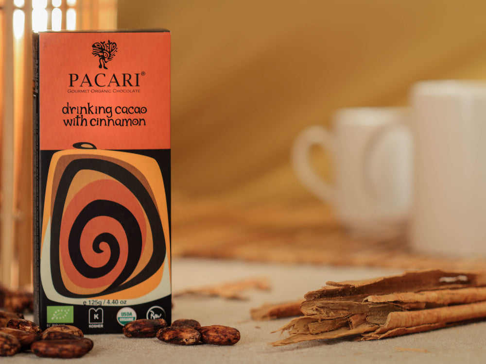 Pacari launches hot drinking chocolate with a twist!