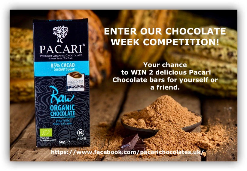 Pacari Chocolate Week Competition - Your Chance To Win