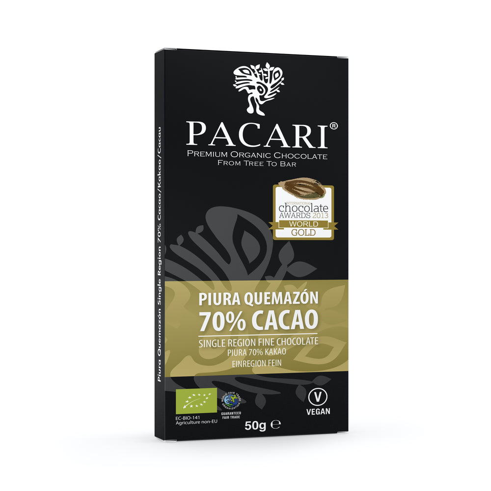 Ecuadorian single origin organic fair trade chocolate