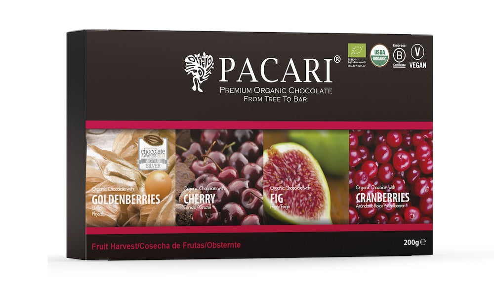 Fruit Harvest Organic Chocolate Gift Set (4 bars)