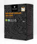 DISPLAY Mini Bars Organic Chocolate Raw 100%