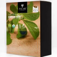 Organic Chocolate with Andean Mint - 60 - Cacao - Minibars - Pacari - 100 pieces