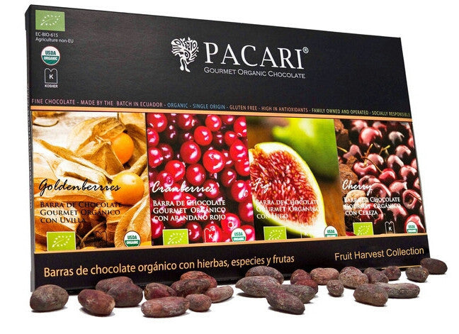 Organic Fruit Harvest Gift Set | Pacari UK