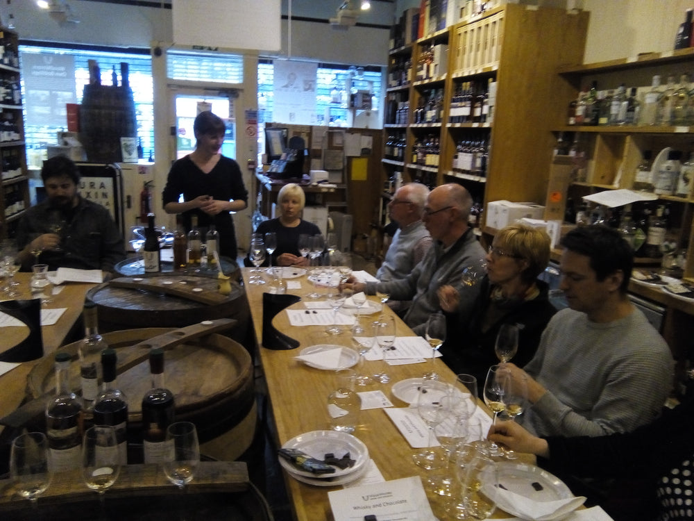 Participants at a Chocolate Tasting Experience | Pacari Chocolates