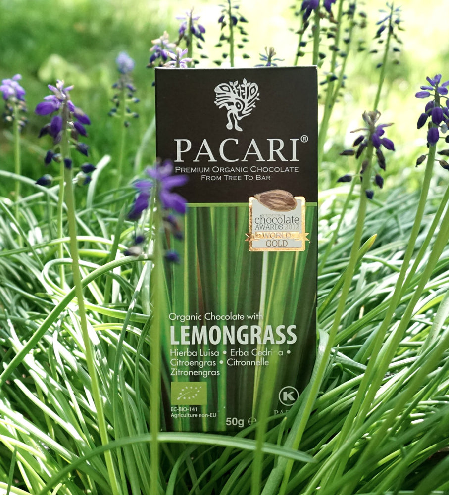 Organic Chocolate Bar with Lemongrass