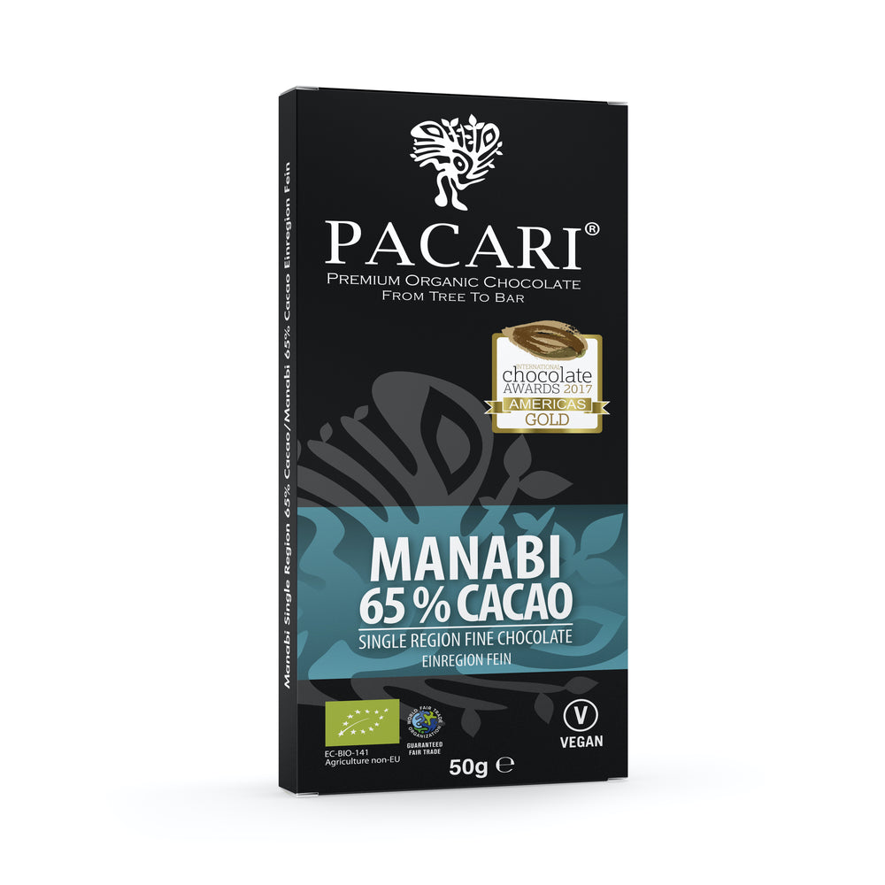 Organic Chocolate Bar Manabi 65%