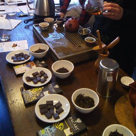 Different flavours presented at a Chocolate Tasting Experience | Pacari Chocolates