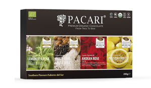 Southern Flavours Organic Chocolate Gift Set (4 bars)